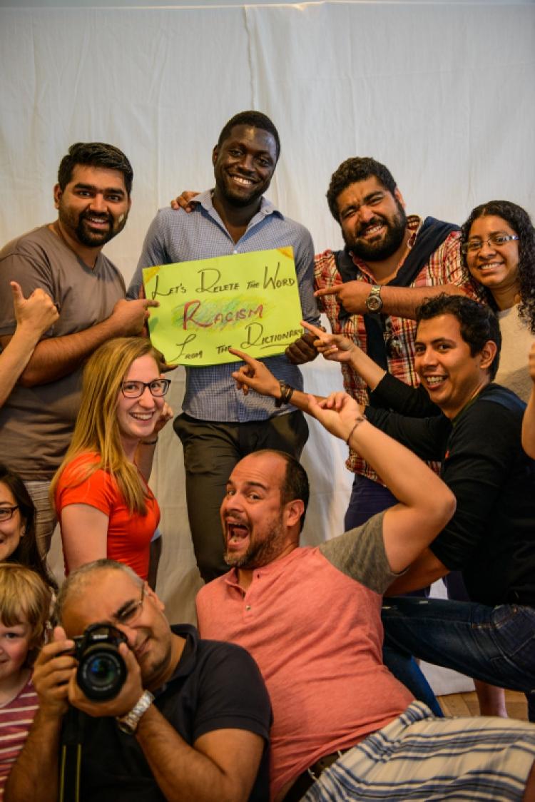 """Wie schaffen wir das? - Was das Programm """"Weltoffen, solidarisch, dialogisch"""" der Stiftung Nord-Süd-Brücken in Sachsen bewirken kann"""