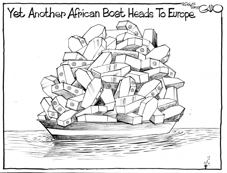 Comic: GADO für JournAfrica!